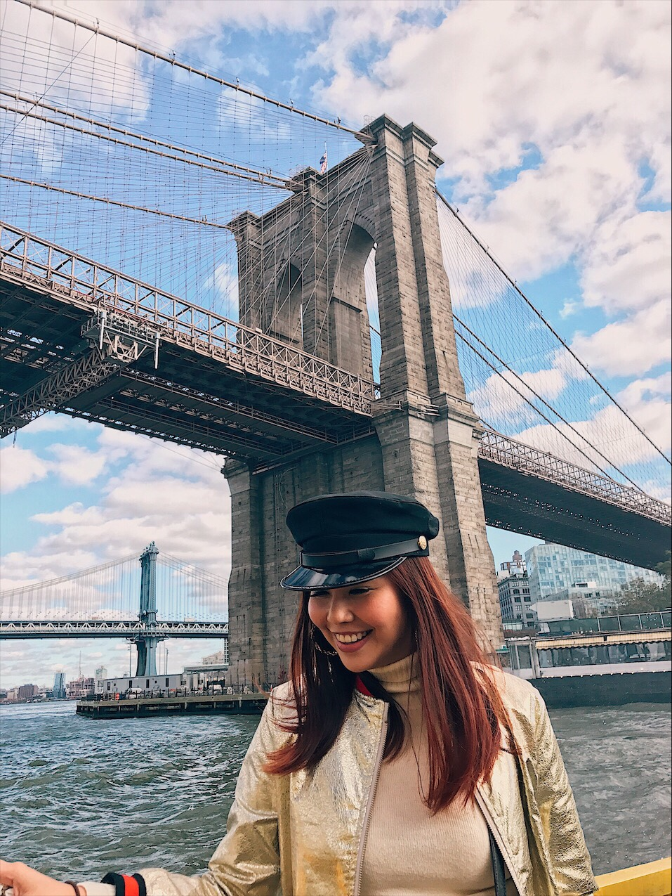 Bianca Valerio Brooklyn Bridge New York
