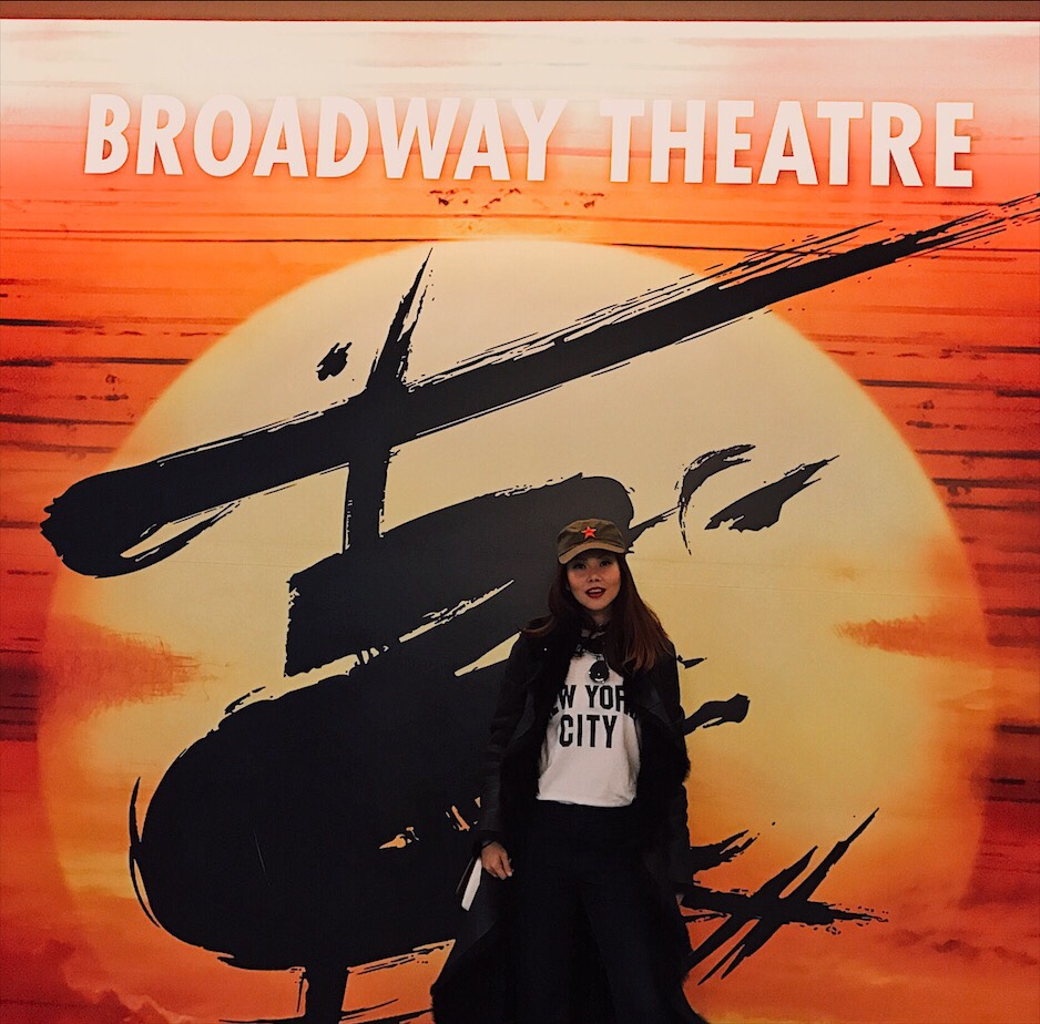Bianca Valerio New York City Miss Saigon