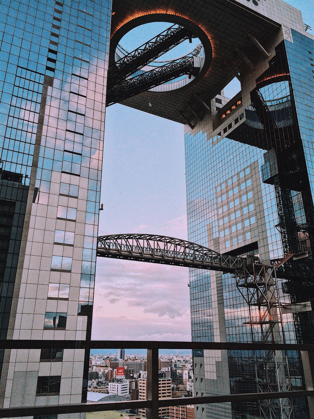 Umeda Sky Building Osaka Travel Guide