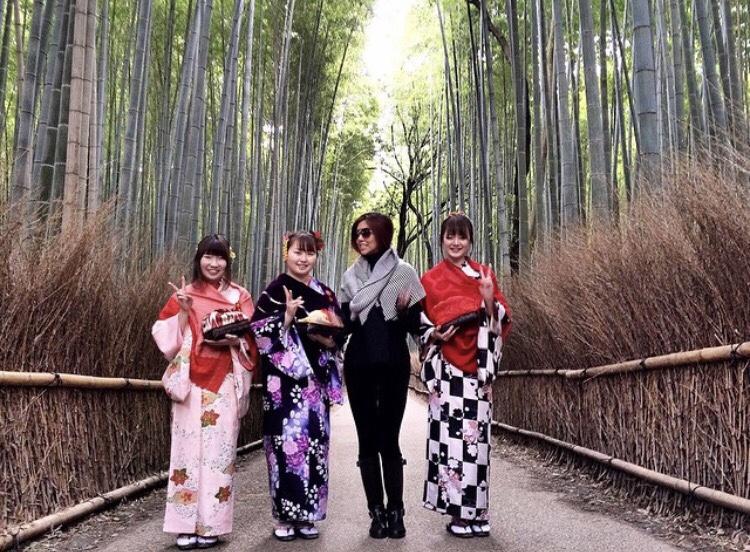 Arishayama Bamboo Forest Kyoto Bianca Valerio Osaka Travel Guide