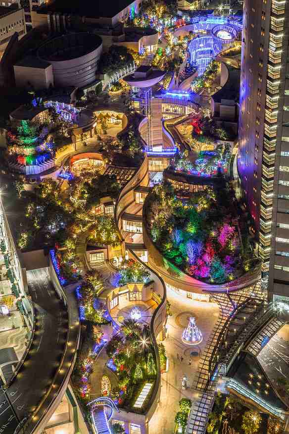 Namba Parks Illumination Osaka Travel Guide