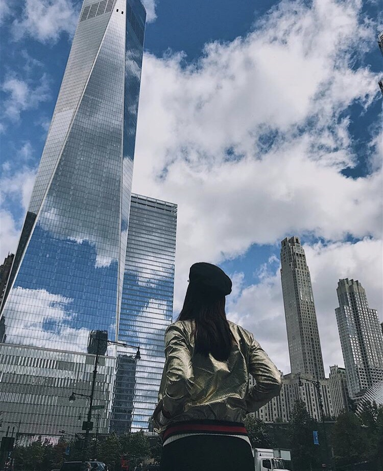 New York City Bianca Valerio 911 Memorial