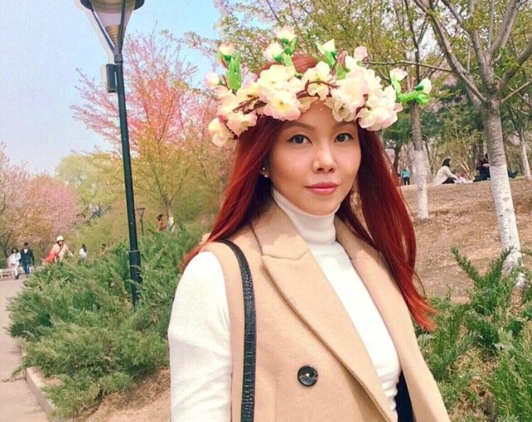 Bianca Valerio China Beijing Yuyuantan Park Cherry Blossoms