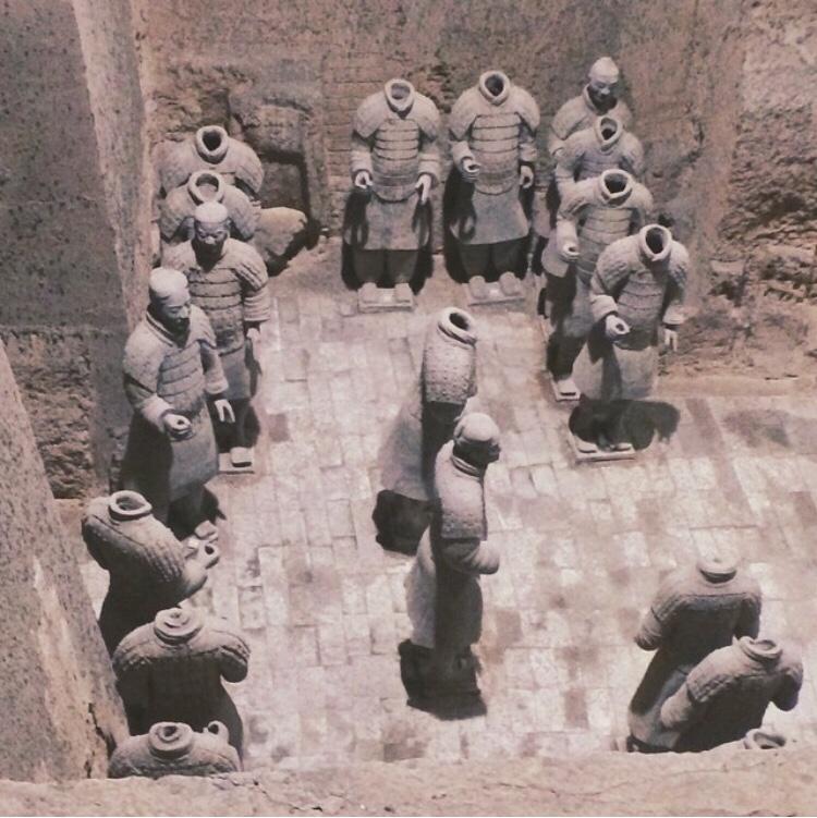 Bianca Valerio China Xian Terracotta Warriors