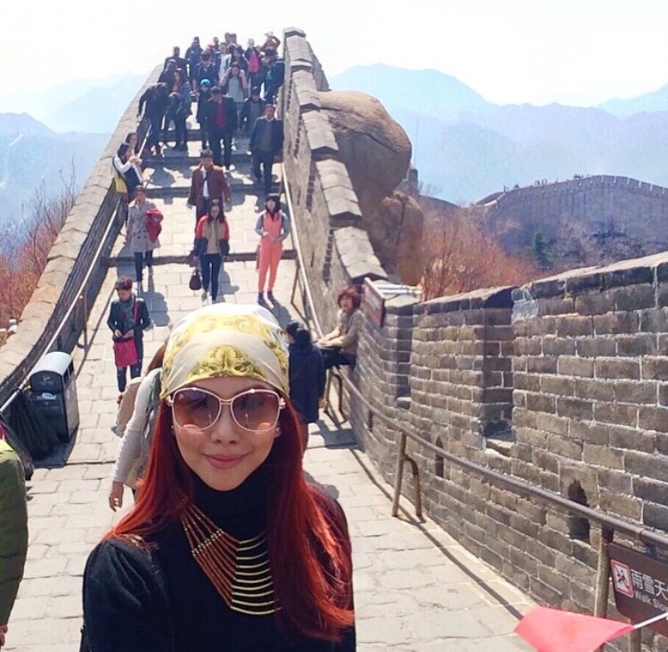 Bianca Valerio Great Wall Of China Beijing