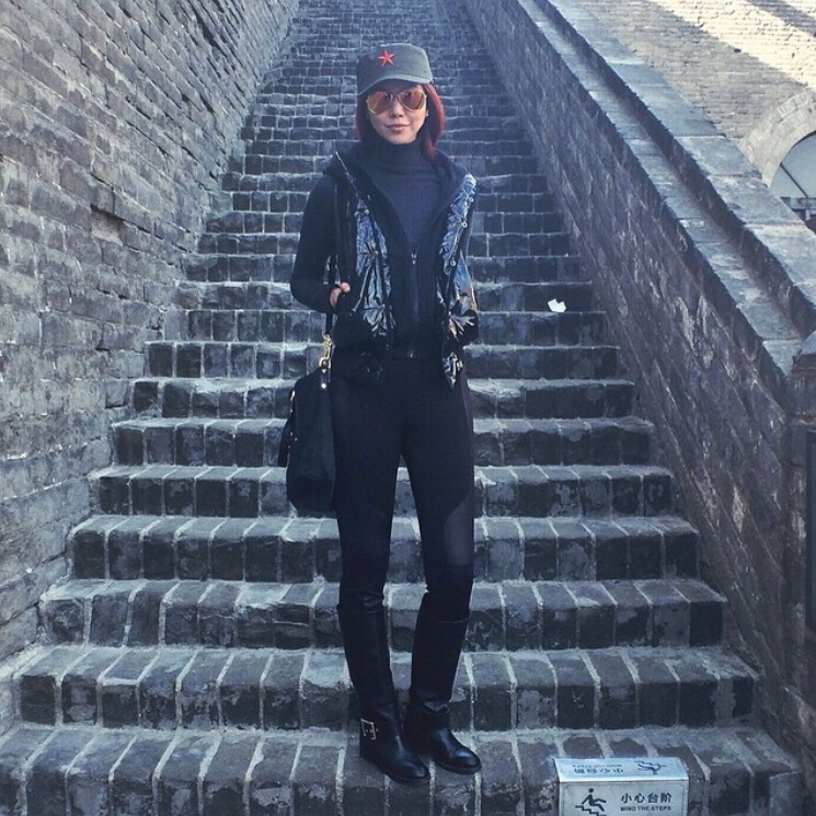 Bianca Valerio China Xian Old Wall