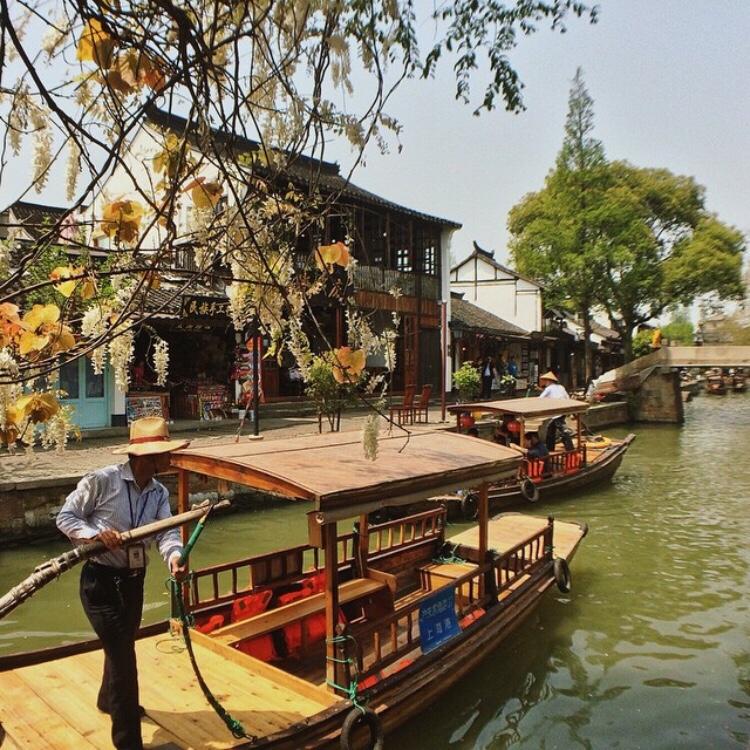 Bianca Valerio China Shanghai Zhujiajiao Water Town