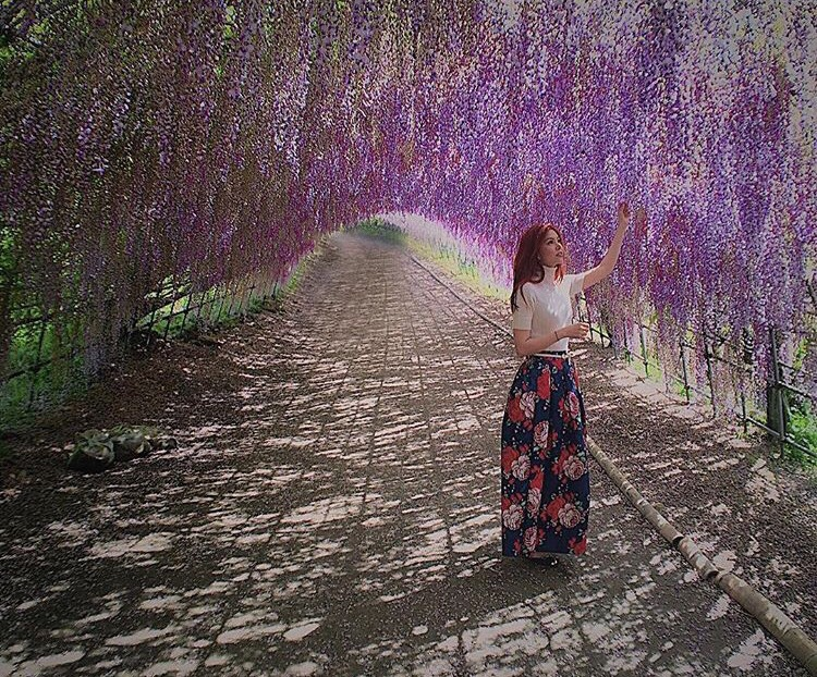 Bianca Valerio Romantic Places in Japan Kawachi Fuji