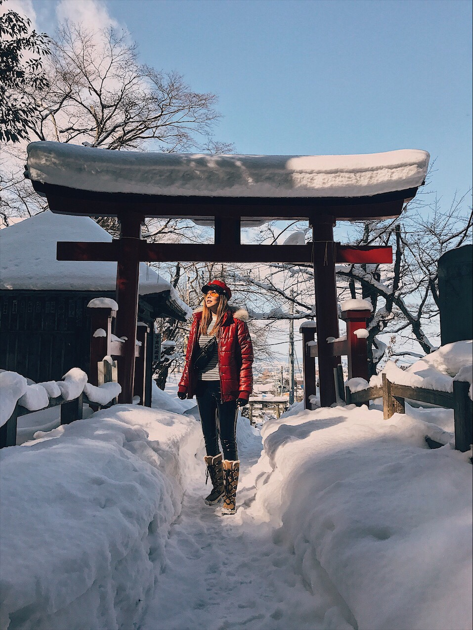 Bianca Valerio Fukushima Winter Snow Japan