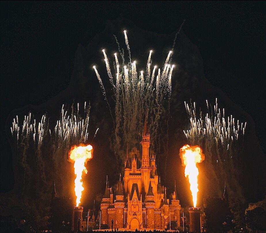 Cinderella's Castle Tokyo Disneyland Japan