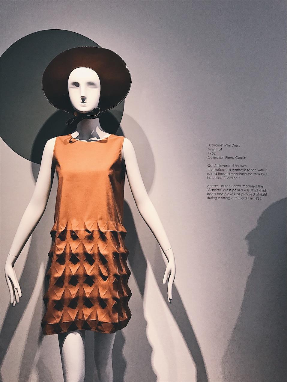 Pierre Cardin Rosecliff Lauren Bacall Dress