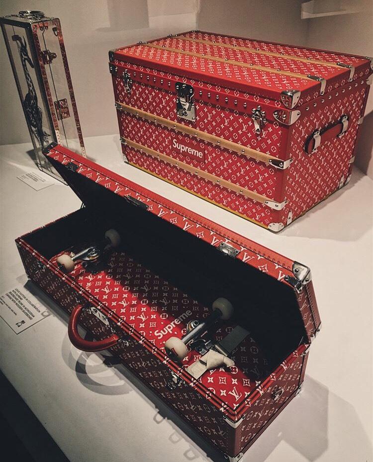 Louis Vuitton Voyage Exhibit New York Supreme
