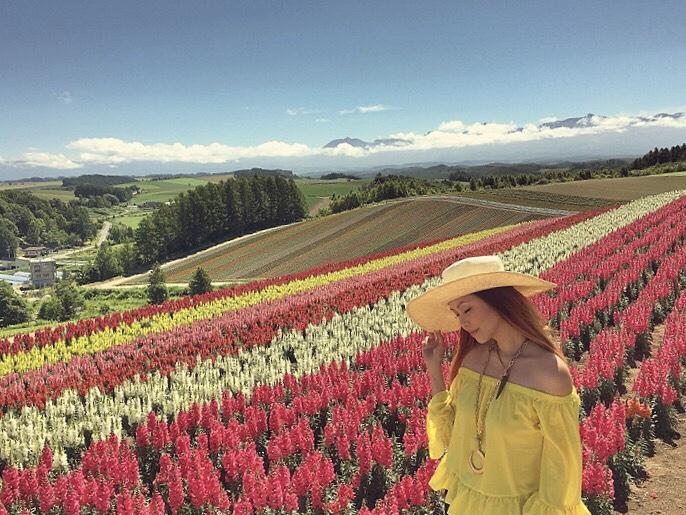 Bianca Valerio Shikisai No Oka Biei Hokkaido