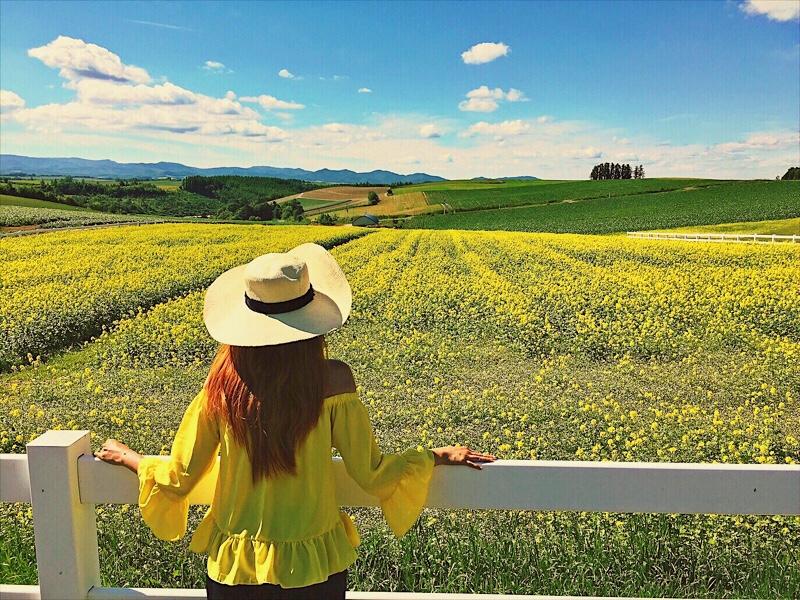 Bianca Valerio Shinei no Oka Biei Hokkaido