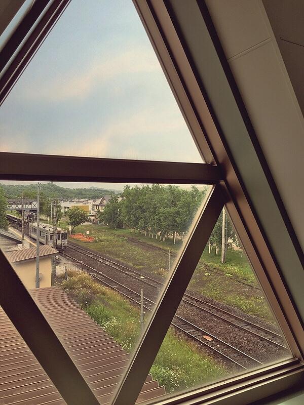 Bianca Valerio Biei JR Station Hokkaido