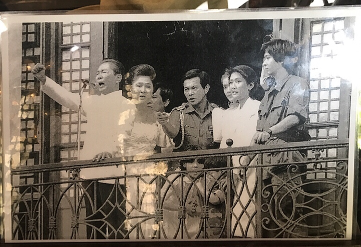 Bianca Valerio Marcos Malacanang Palace Philippines