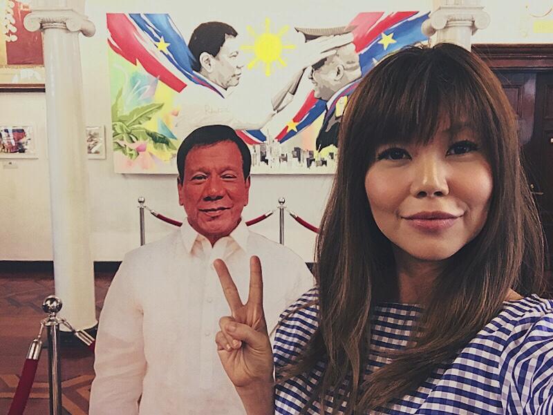 Bianca Valerio Malacanang palace president rodrigo duterte